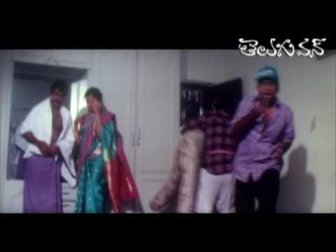 Comedy Scene - Meena - Bala Krishna - Brahmi