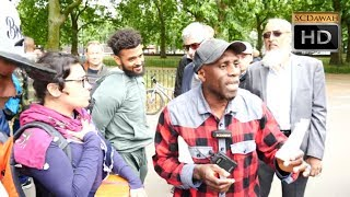 £500 Here!!!  Brother Mohammed vs Christian l Speakers Corner l Hyde Park