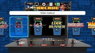 Classic Arcade Emulation - Killer Instinct, Tekken, Metal Slug, and MORE