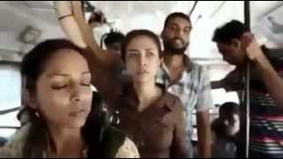 Girl slap boys titu in bus