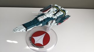 KNERDOUT 63 Macross SDF-1 Megahouse Action Figure Toy Review
