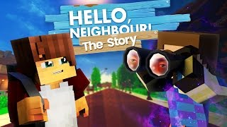 Minecraft Hello Neighbour The Story - MOVING INTO THE NEIGHBOURHOOD - Pt 1