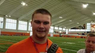 TigerNet.com - Jay Guillermo Pro Day
