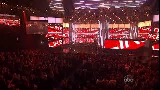 Enrique Iglesias Ft Pitbull   Tonight and I like it   Live AMA awards