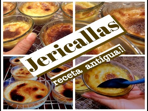 JERICALLAS receta antigua LECHE ASADA Lorena Lara