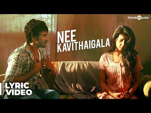 Maragatha Naanayam | Nee Kavithaigala Song with Lyrics | Aadhi, Nikki Galrani | Dhibu Ninan Thomas