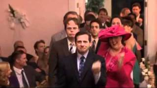 The Office - Jim and Pam's Wedding Dance