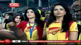 CCL 2 Telugu Warriors Vs Chennai Rhinos ING-2 OVR-19