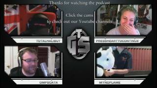 Funny TGS Podcast 3 Highlights (Jesse Cox, Myndflame, TotalBiscuit, Dodger)