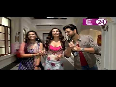 Xxx Mp4 Qayamat Ki Raat के Set पर U Me Aur TV Karishma Tanna Vivek Dahiya In Lead Role E24 3gp Sex