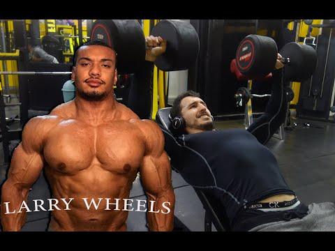 أحسن تحفيز للتدريب مع أقوى لاعب كمال أجسام في العالم!   حصة تدريب الصدر