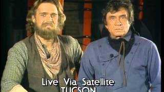 The Highwaymen Win Country Group Video - AMA 1986