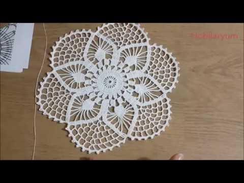 Çeyizlik Tığişi Yuvarlak Dantel Yapımı, Crochet Part 1