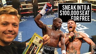 Mayweather vs McGregor $100,000 seat for FREE