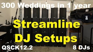 DJ 300 + Weddings in 2019 😮 | Streamline DJ Setup | Managing 8 mobile DJs