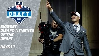 Biggest Disappointments of the 2017 NFL Draft   NFL Network