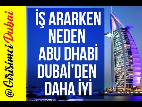 Dubai'de iş | Çalışmak için Abu Dhabi | Girişim Dubai