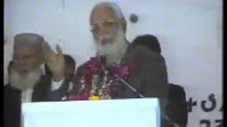 Korangi Convention Maj.General (Rtd) Zahir ul Islam Abbasi