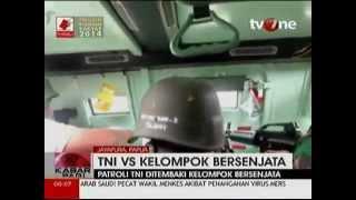 SENGIT..! TNI vs OPM baku tembak di Wutung, Jayapura, Selasa, 3 Juni 2014