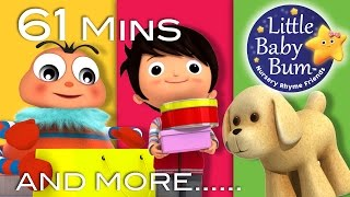 To Market To Market | Plus Lots More Nursery Rhymes | 61 Minutes Compilation from LittleBabyBum!