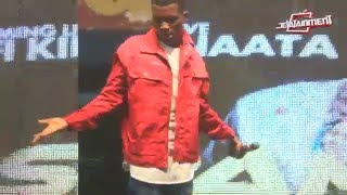 Kofi Kinaata's fans won't allow him to sing his own song... wow