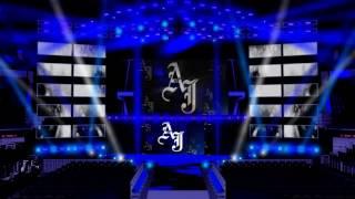 WWE World Heavyweight Champion AJ Styles Entrance Stage