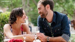 Iñaki y Nekane disfrutan de Sevilla juntos - Allí abajo