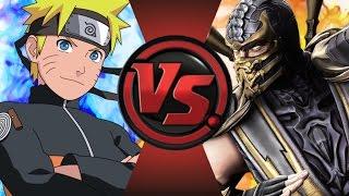 NARUTO vs SCORPION! Cartoon Fight Club Episode 80