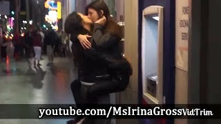 Girl Asking Strangers For A Kiss | Experiment MUST WATCH