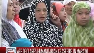 Suspected gunfire mars Eid al-Fitr truce in Marawi