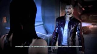 Mass Effect 3: Diana Allers romance scene