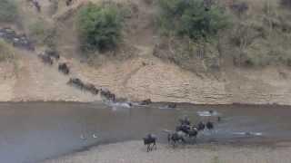 cruce del Río Mara!!