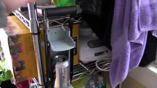 Using a Soda Aluminium Can Crusher