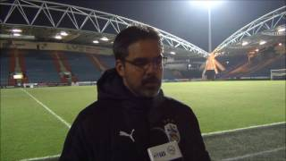 INTERVIEW: David Wagner reviews Huddersfield Town's defeat to Wigan Athletic