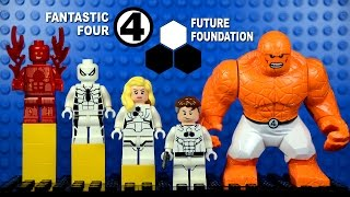 LEGO Future Foundation Fantastic Four Spiderman KnockOff Minifigures