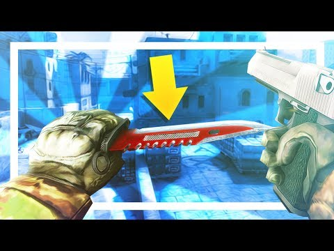 CHEATING WITH A KNIFE SKIN?! - CS:GO Overwatch