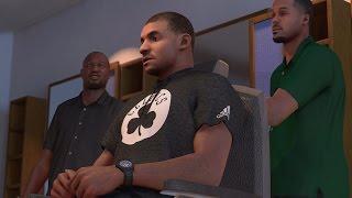 NBA 2K17 PS4 My Career - Back in the Barbershop!