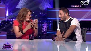 #الليلة_دي   فقرة خاصة تجمع الفنانة إنتصار مع الفنان رامي عياش