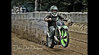 The Wild Riders of Motorcycle Dirt Drags