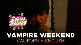 Vampire Weekend - California English - Juan