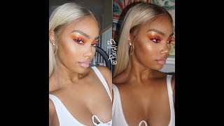 FIRE LOOK | Blac Chyna Inspired look | makeup tutorial