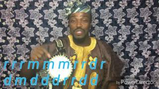 How to Play the Yoruba proverbs on the Talking drum using the diactiric marks.