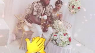 Anurada & uwani wedding day moment