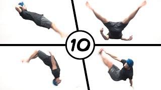 10 Ways to Backflip (Parkour, Freerunning, Tricking)