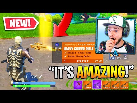 Xxx Mp4 Fortnite S NEW HEAVY SNIPER Is OVERPOWERED 3gp Sex