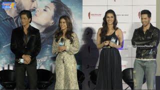 Dilwale - New Song 'Gerua' Launch By Sharukh Khan, Kajol ,Varun Dhavan, Kriti - Full