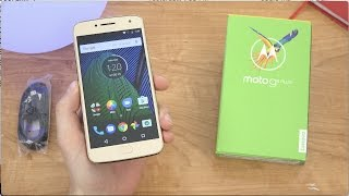 Moto G5 Plus Unboxing and First Impressions!