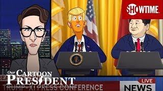 'Let's Talk About Pangea' Ep. 2 Official Clip | Our Cartoon President | SHOWTIME