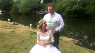 QVC Presenter Alison Keenan's wedding
