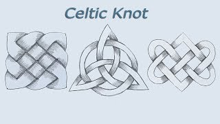 How to Draw Celtic Knot  step by step